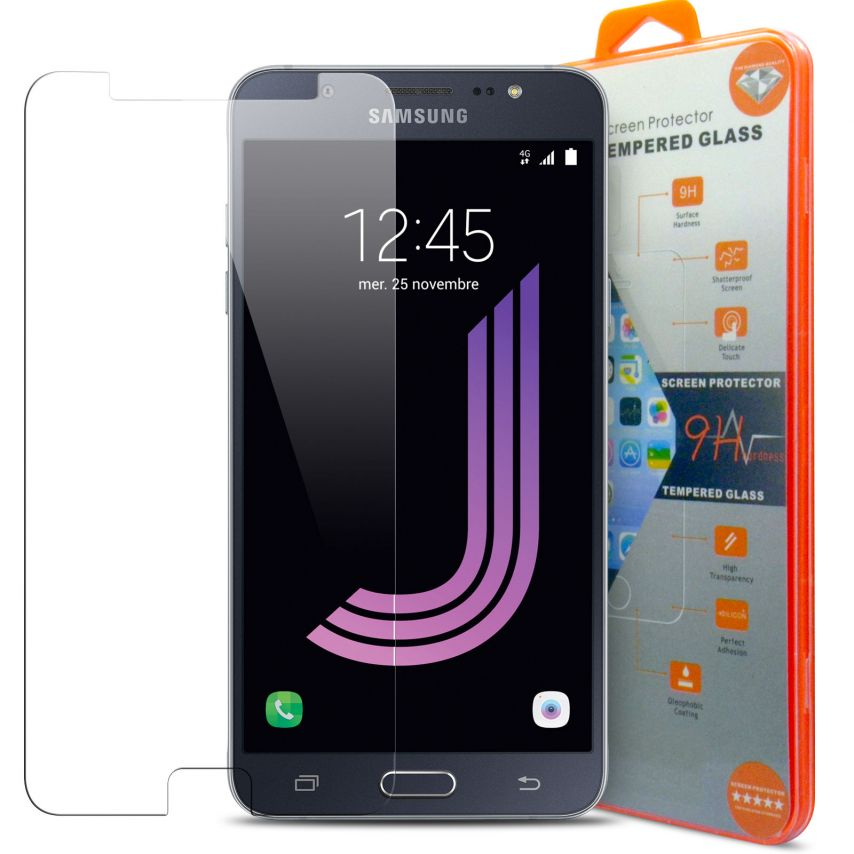 Protección de pantalla de vidrio templado Samsung Galaxy J7 2016 (J710) Glass Pro+ 9H Ultra HD 0.33mm