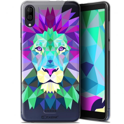 "Carcasa Gel Extra Fina Wiko Y80 (6"") Polygon Animals León"