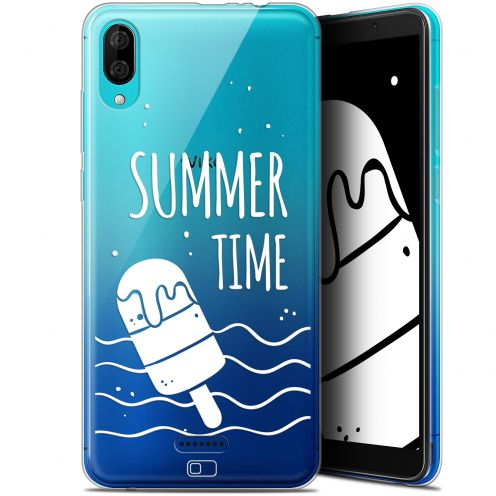 "Carcasa Gel Extra Fina Wiko Y80 (6"") Summer Summer Time"