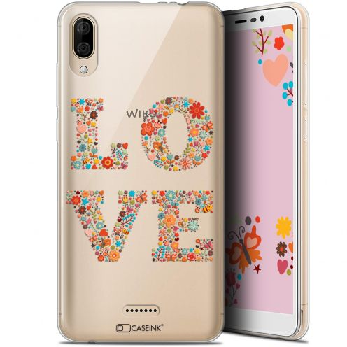 "Carcasa Gel Extra Fina Wiko Y80 (6"") Summer Love Flowers"