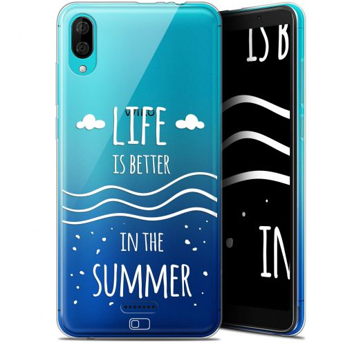 "Carcasa Gel Extra Fina Wiko Y80 (6"") Summer Life's Better"