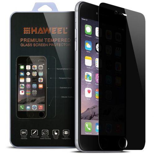 Protección de pantalla de vidrio templado Apple iPhone 6/6s Privacy 9H Ultra HD 0.33mm