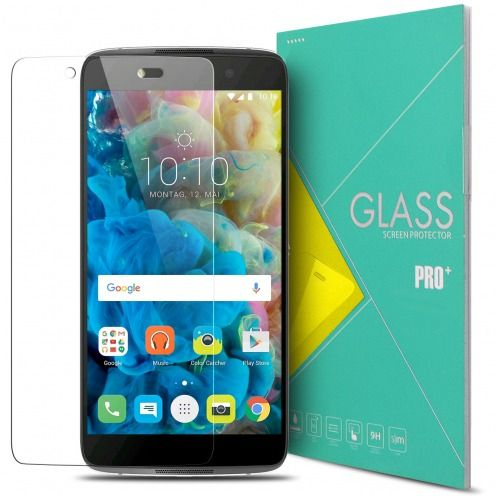 Protección de pantalla de vidrio templado Alcatel Idol 4 Glass Pro+ 9H Ultra HD 0.33mm