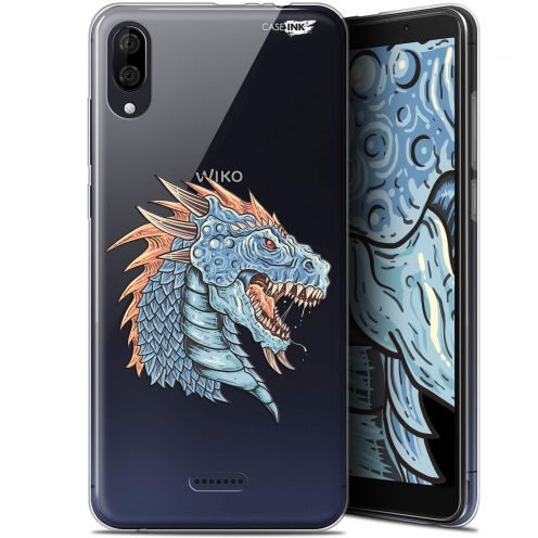 "Carcasa Gel Extra Fina Wiko Y80 (6"") Design Dragon Draw"