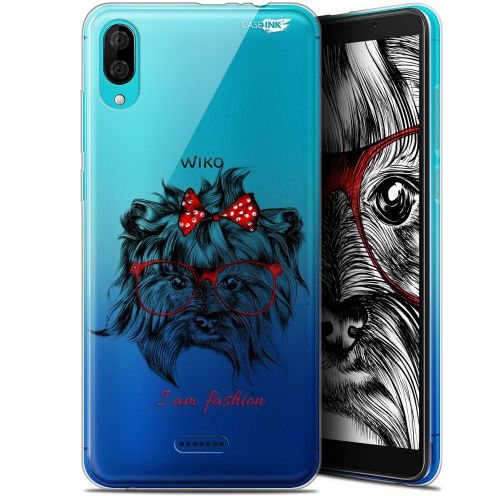 "Carcasa Gel Extra Fina Wiko Y80 (6"") Design Fashion Dog"