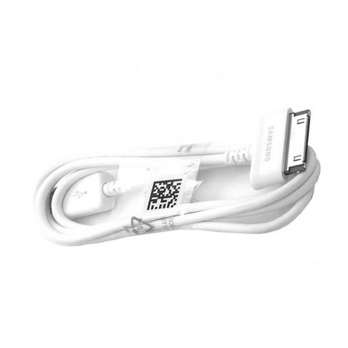 Cable de sincronización USB 30 Pins Samsung ECB-DP4AWE 1M Blanco para Galaxy Tab