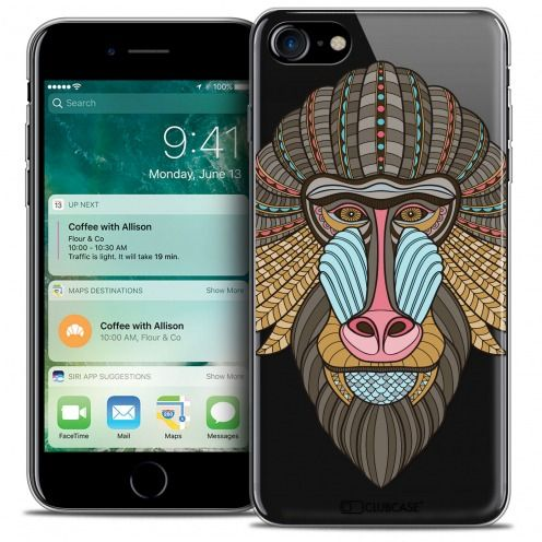 "Carcasa Crystal Gel Extra Fina Apple iPhone 7 (4.7"") Summer Babouin"