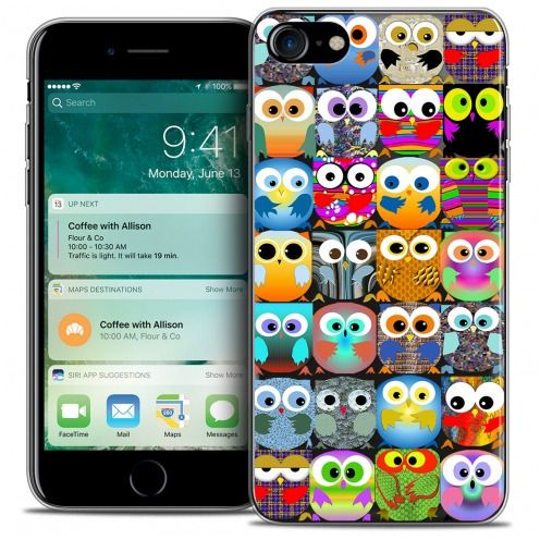"Carcasa Crystal Gel Extra Fina Apple iPhone 7 (4.7"") Claude Hibous"
