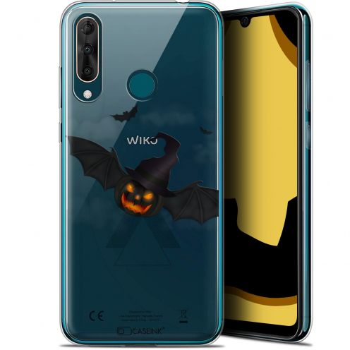 "Carcasa Gel Extra Fina Wiko View 3 PRO (6.3"") Halloween Chauve Citrouille"