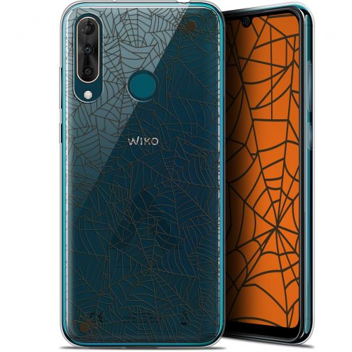 "Carcasa Gel Extra Fina Wiko View 3 PRO (6.3"") Halloween Spooky Spider"