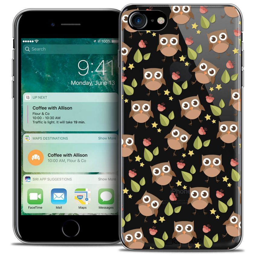 "Carcasa Crystal Gel Extra Fina Apple iPhone 7 (4.7"") Summer Hibou"