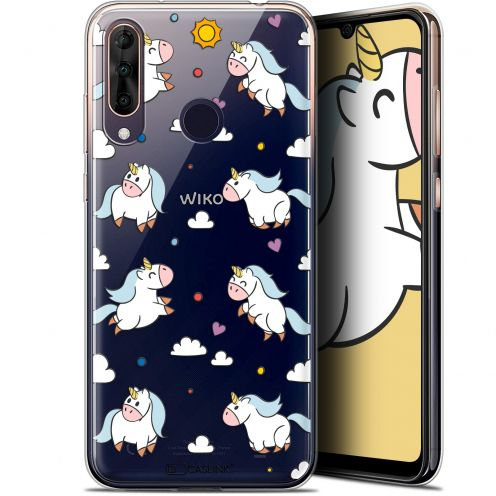 "Carcasa Gel Extra Fina Wiko View 3 PRO (6.3"") Fantasia Licorne In the Sky"