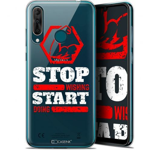 """Carcasa Gel Extra Fina Wiko View 3 PRO (6.3"""") Quote Start Doing"""