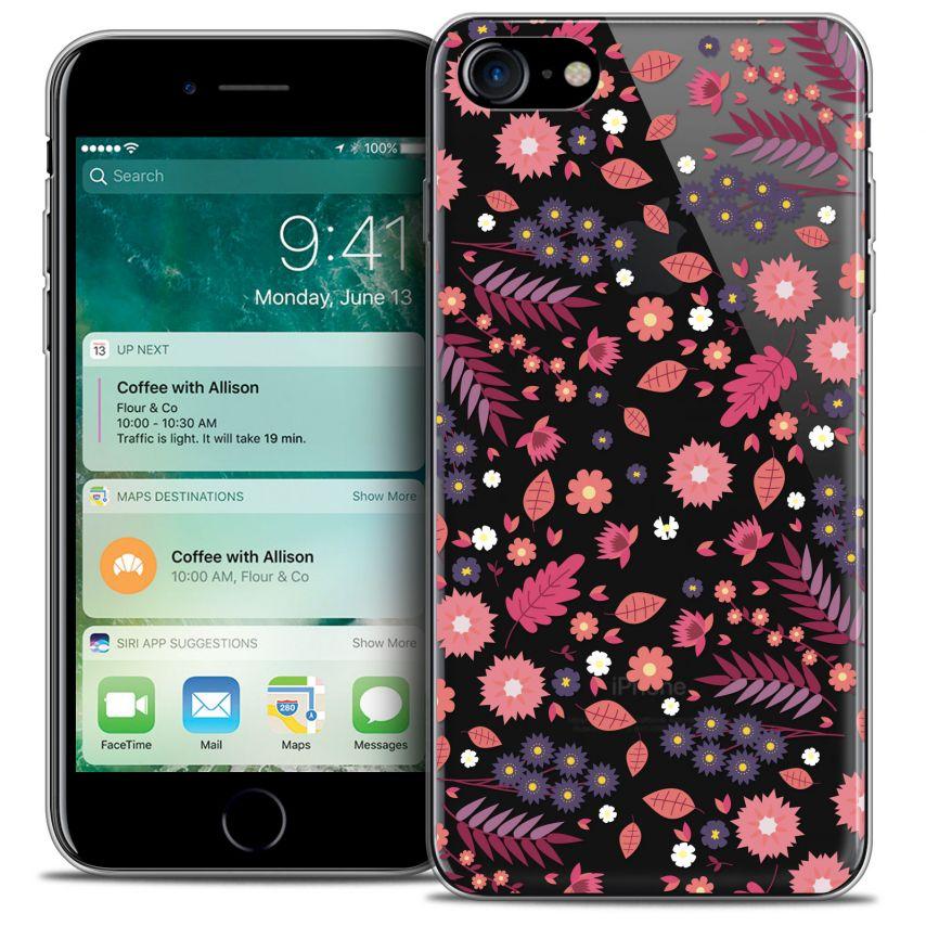"Carcasa Crystal Gel Extra Fina Apple iPhone 7 (4.7"") Spring Floraison"
