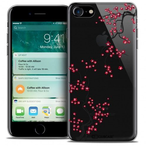 "Carcasa Crystal Gel Extra Fina Apple iPhone 7 (4.7"") Summer Sakura"