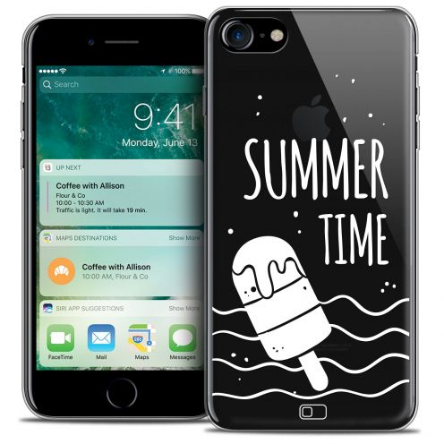"Carcasa Crystal Gel Extra Fina Apple iPhone 7 (4.7"") Summer Summer Time"