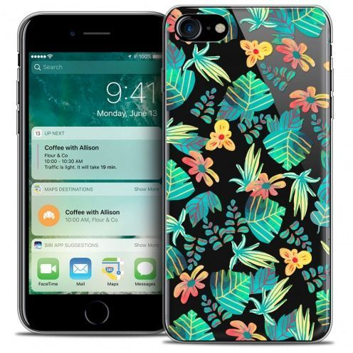 "Carcasa Crystal Gel Extra Fina Apple iPhone 7 (4.7"") Spring Tropical"