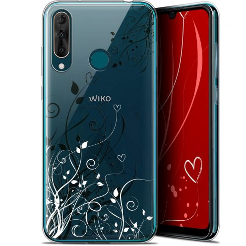 "Carcasa Gel Extra Fina Wiko View 3 PRO (6.3"") Love Hearts Flowers"
