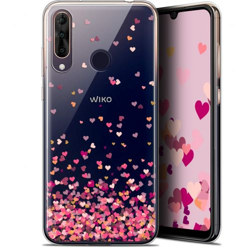 "Carcasa Gel Extra Fina Wiko View 3 PRO (6.3"") Sweetie Heart Flakes"