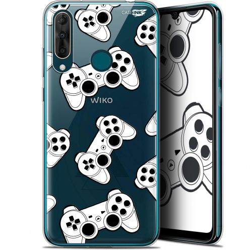 "Carcasa Gel Extra Fina Wiko View 3 PRO (6.3"") Design Game Play Joysticks"