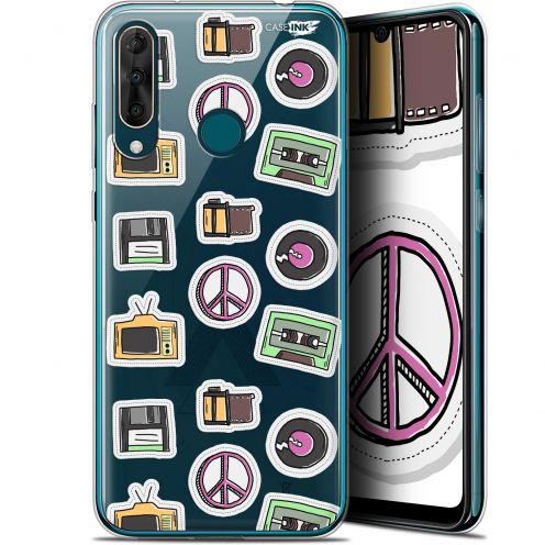 "Carcasa Gel Extra Fina Wiko View 3 PRO (6.3"") Design Vintage Stickers"
