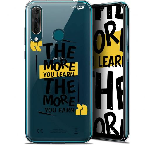 """Carcasa Gel Extra Fina Wiko View 3 PRO (6.3"""") Design The More You Learn"""