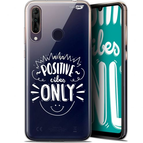 """Carcasa Gel Extra Fina Wiko View 3 PRO (6.3"""") Design Positive Vibes Only"""
