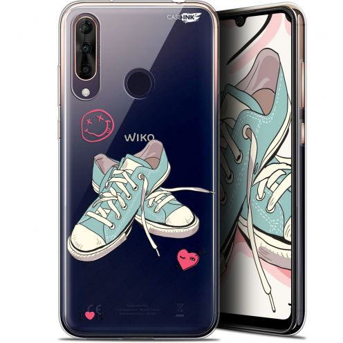 "Carcasa Gel Extra Fina Wiko View 3 PRO (6.3"") Design Mes Sneakers d'Amour"