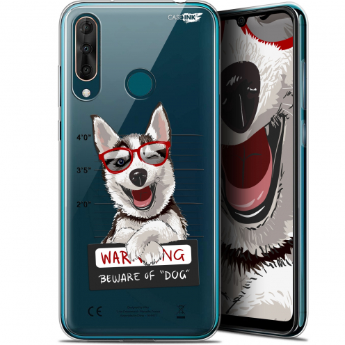 "Carcasa Gel Extra Fina Wiko View 3 PRO (6.3"") Design Beware The Husky Dog"