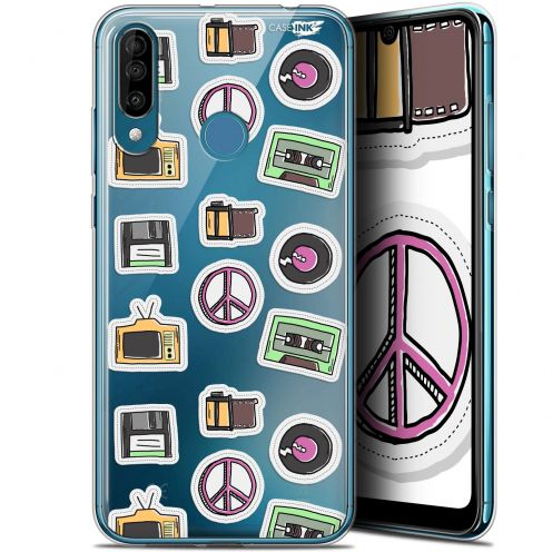 """Carcasa Gel Extra Fina Wiko View 3 (6.26"""") Design Vintage Stickers"""