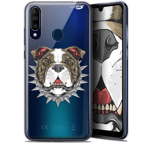 "Carcasa Gel Extra Fina Wiko View 3 (6.26"") Design Doggy"