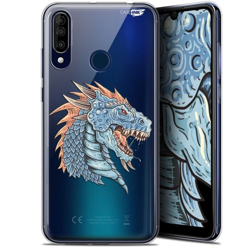 "Carcasa Gel Extra Fina Wiko View 3 (6.26"") Design Dragon Draw"