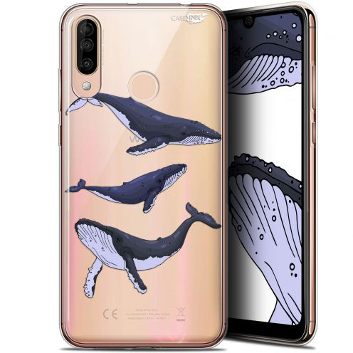 "Carcasa Gel Extra Fina Wiko View 3 (6.26"") Design Les 3 Baleines"