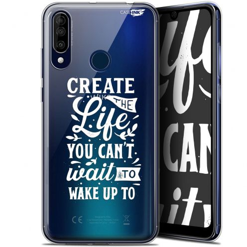 "Carcasa Gel Extra Fina Wiko View 3 (6.26"") Design Wake Up Your Life"