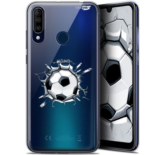 "Carcasa Gel Extra Fina Wiko View 3 (6.26"") Design Le Balon de Foot"