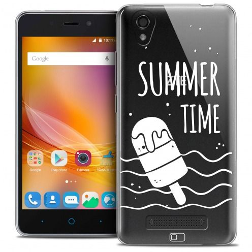 Carcasa Crystal Gel Extra Fina ZTE A452 Summer Summer Time