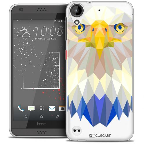 Carcasa Crystal Gel Extra Fina HTC Desire 530/630 Polygon Animals Águila
