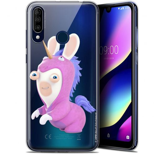 "Carcasa Gel Wiko View 3 (6.26"") Lapins Crétins™ Licorne"