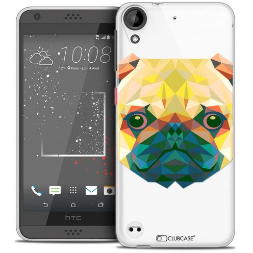 Carcasa Crystal Gel Extra Fina HTC Desire 530/630 Polygon Animals Perro
