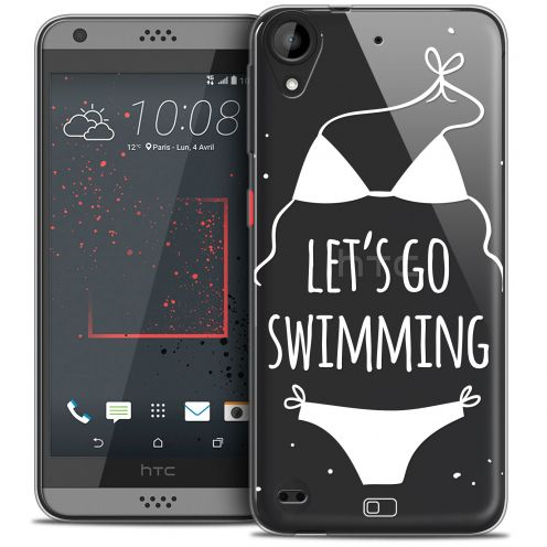 Carcasa Crystal Gel Extra Fina HTC Desire 530/630 Summer Let's Go Swim
