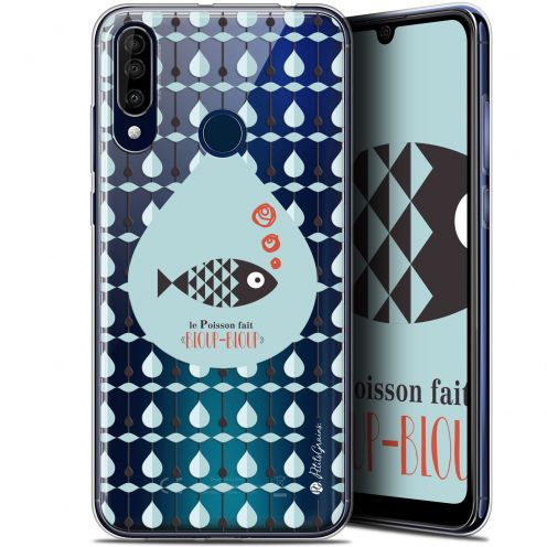 "Carcasa Gel Extra Fina Wiko View 3 (6.26"") Petits Grains® Le Poisson"