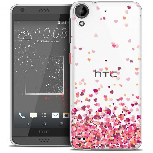 Carcasa Crystal Gel Extra Fina HTC Desire 530/630 Sweetie Heart Flakes