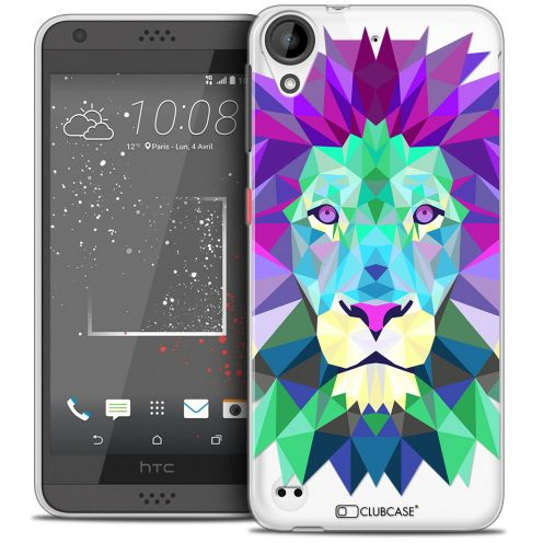 Carcasa Crystal Gel Extra Fina HTC Desire 530/630 Polygon Animals León