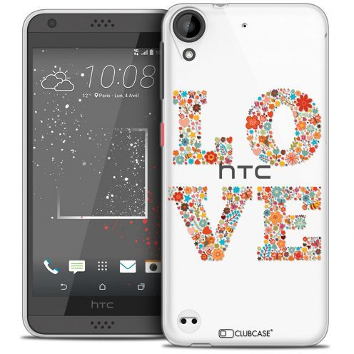 Carcasa Crystal Gel Extra Fina HTC Desire 530/630 Summer Love Flowers