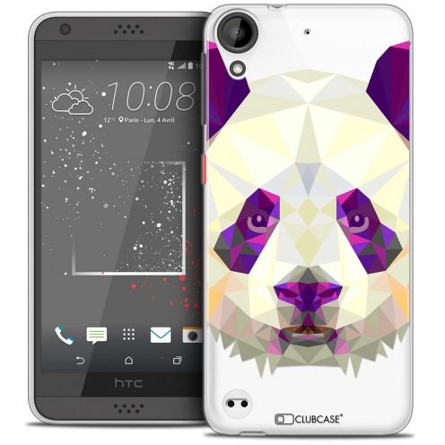 Carcasa Crystal Gel Extra Fina HTC Desire 530/630 Polygon Animals Panda