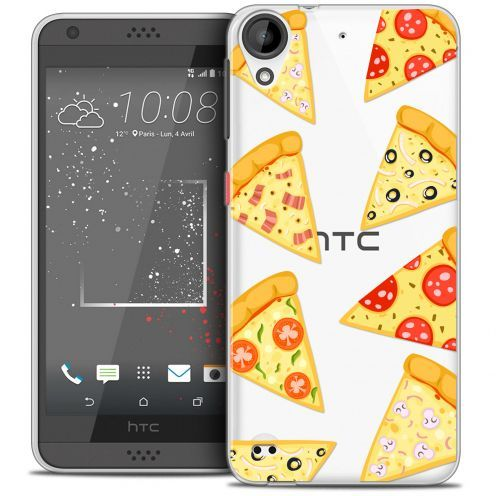 Carcasa Crystal Gel Extra Fina HTC Desire 530/630 Foodie Pizza