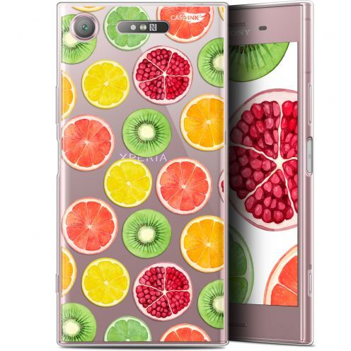 "Carcasa Gel Extra Fina Sony Xperia XZ1 (5.2"") Design Fruity Fresh"