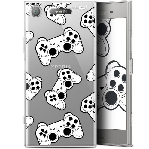 "Carcasa Gel Extra Fina Sony Xperia XZ1 (5.2"") Design Game Play Joysticks"