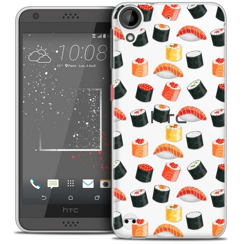 Carcasa Crystal Gel Extra Fina HTC Desire 530/630 Foodie Sushi