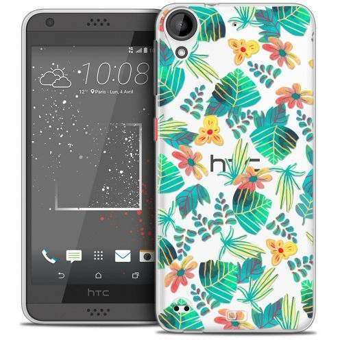 Carcasa Crystal Gel Extra Fina HTC Desire 530/630 Spring Tropical